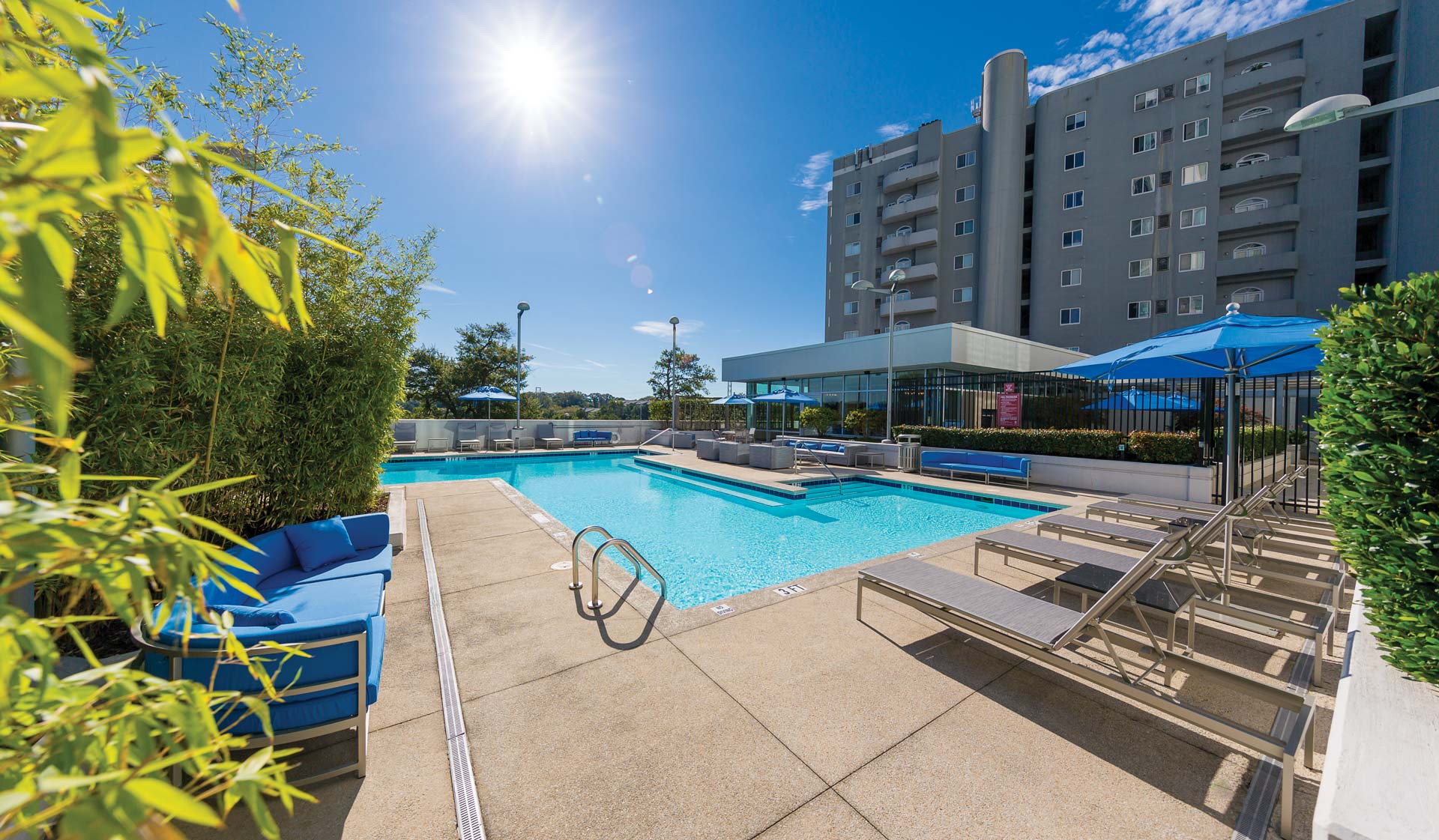 Mezzo Apartments - Atlanta, GA - Pool